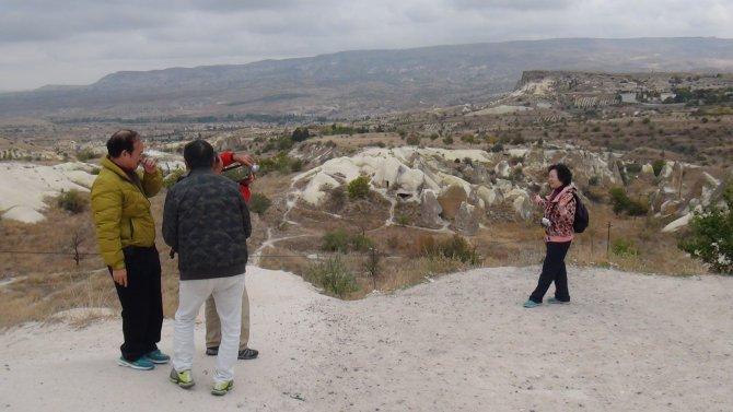 Kapadokya'nın ziyaretçileri yarı yarıya azaldı