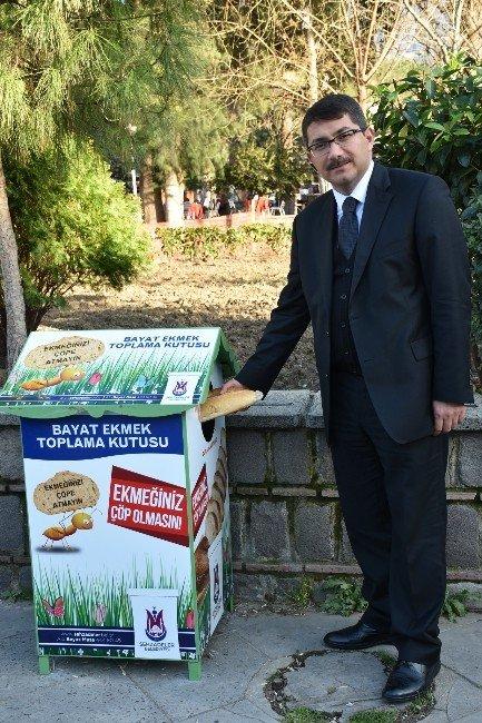 Şehzadeler'de Ekmek İsrafına Karşı Örnek Proje