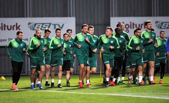 Bursaspor'da Antalya Hazırlıkları Başladı