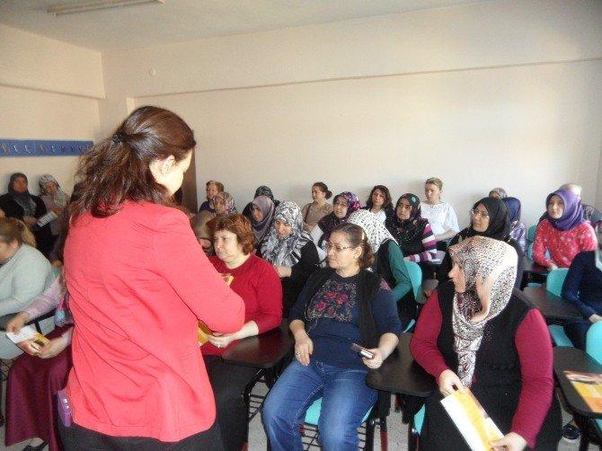 Bozüyük'te TDP Büro Amirliği Kadınlar Günü'nde Kadınları Bilgilendirdi