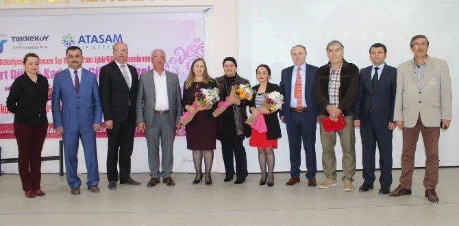 Tekkeköy'de Kadınlar Günü Kutlaması