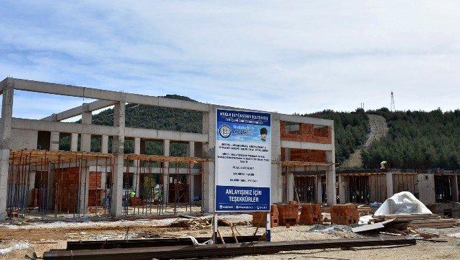 Büyükşehir Makine Ve İkmal Binası İnşaatı Yükseliyor