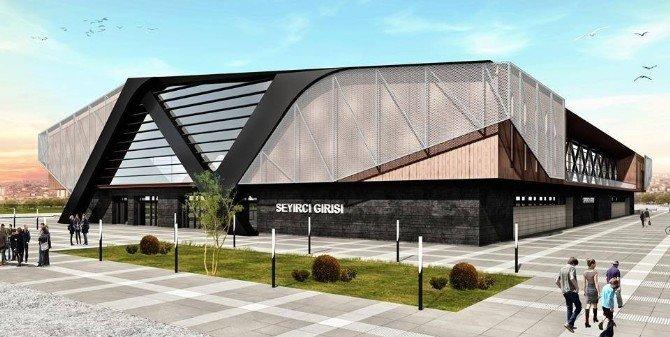 Uşak'ta Eski Spor Salonu Yıkılıyor, Yerine Yenisi Yapılıyor