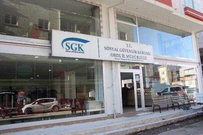 Ünye SGM Yeni Yerinde