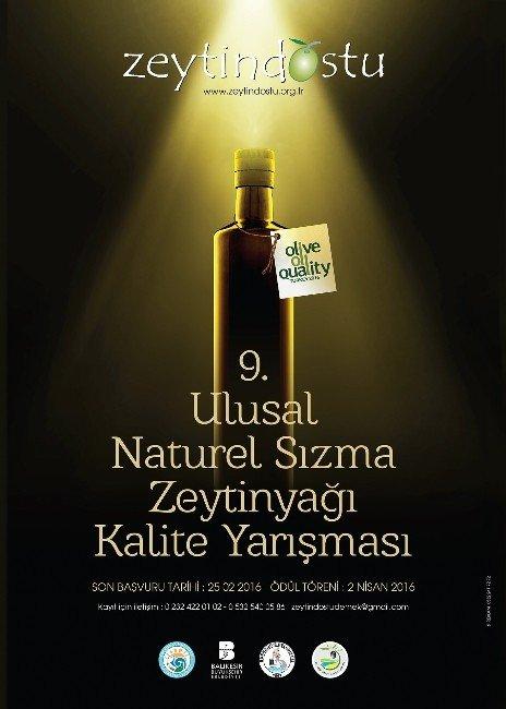 Burhaniye'de Sızma Natürel Zeytinyağı Yarışması