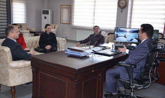 Metristepe İlkokulu'ndan Başkan Bakıcı'ya Ziyaret