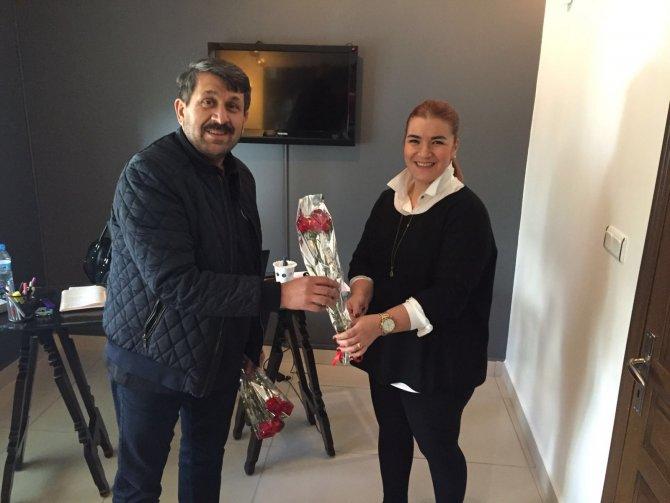 Beşiktaşlı taraftarlar 8 Mart'da kadınları unutmadı