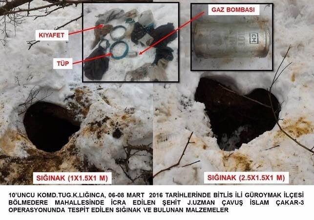 Bitlis'te Patlayıcı Madde İmha Edildi