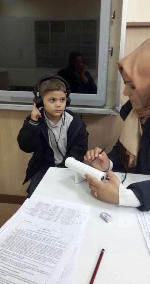 Afyonkarahisar'daki okullarda işitme taraması başlatıldı