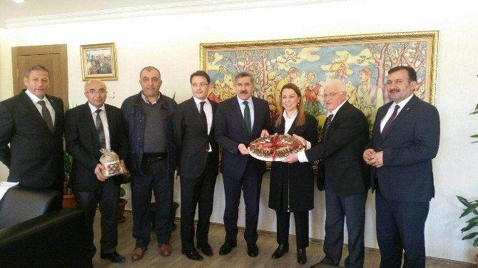 Hekimhan'ın Sorunları Ankara'da Masaya Yatırıldı
