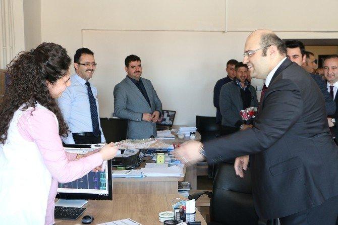 Başkan Orhan'dan Anlamlı Ziyaretler…