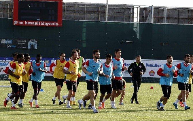 Antalyaspor'da Kırmızı Kart Gören İki Futbolcuya Ceza