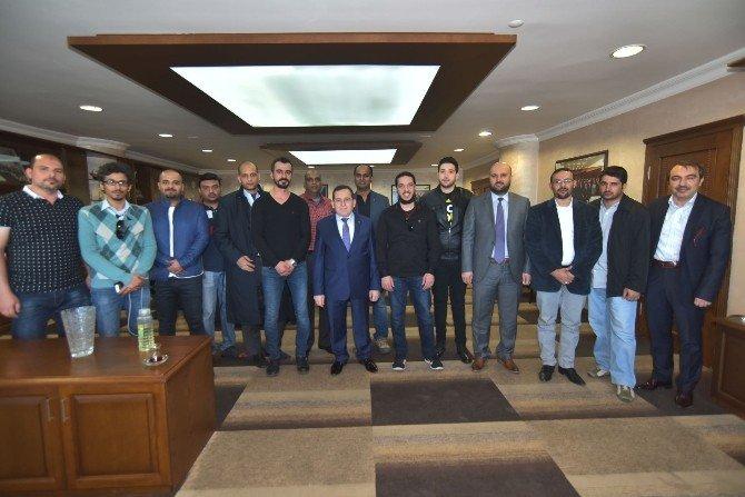 Arap Turizm Seyahat Acenteleri Trabzon'da İncelemelerde Bulunuyor