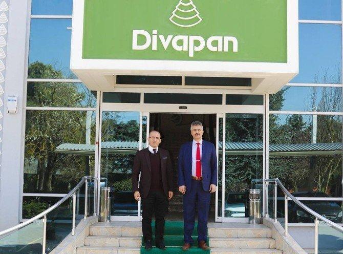 Cumhuriyet Başsavcısı Güre'den Divapan'a Ziyaret