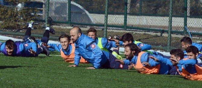 Bb Erzurumspor, Bursa Nilüfer Maçı Hazırlıklarını Sürdürüyor