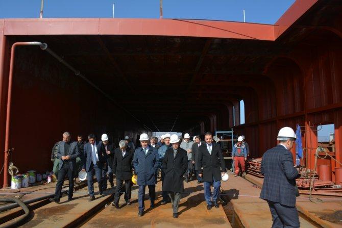 Türkiye'nin en büyük feribotlarından ilki 20 Mart'ta sefere hazır olacak