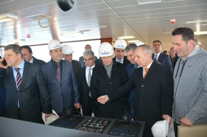 Türkiye'nin En Büyük Feribotları Sefere Çıkmak İçin Gün Sayıyor