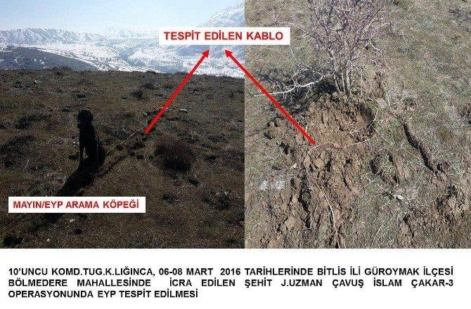 Bitlis'te 3 Sığınak Bulundu