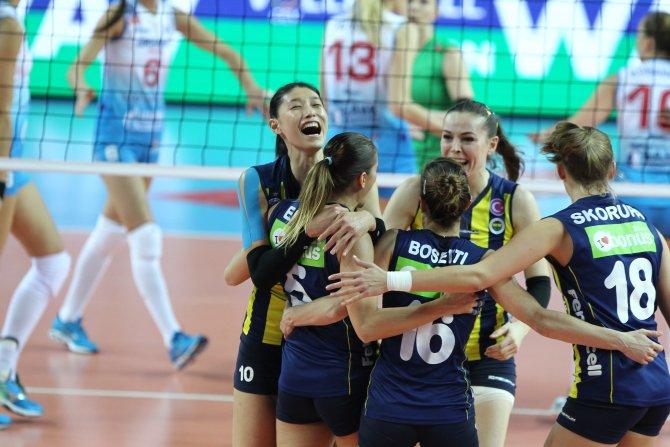 Fenerbahçe Grundig: 3 - Dinamo Moskova: 1