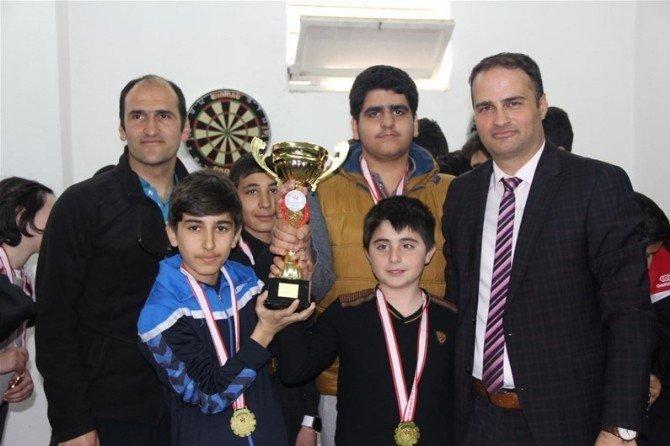 Erzincan'da İlk Defa Dart İl Birinciliği Yapıldı
