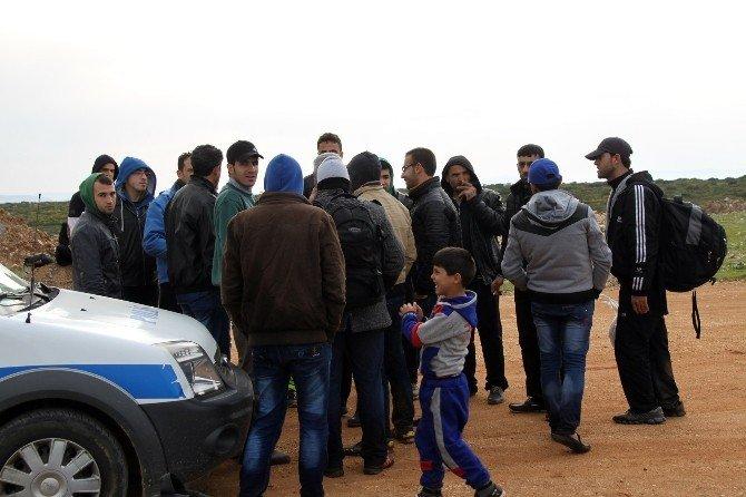 Yakalanan Suriyeli Göçmenden Cumhurbaşkanına Sevgi Gösterisi