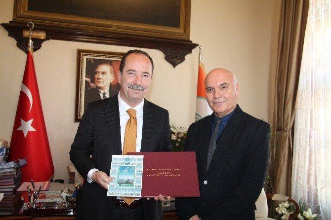 """Ünlü Ressam Nalbantis'ten """"Edirne'de Dört Mevsim"""" Sergisi"""