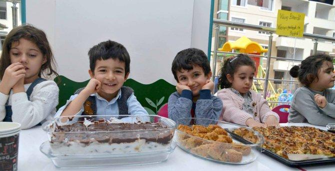 Sur'dan göç eden çocuklara, akranlarından hediye