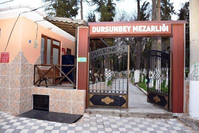 Dursunbey'de 'Online Mezarlık' Dönemi