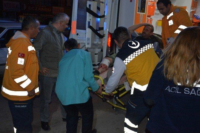 Erbaa'da Kavga: 1 Yaralı