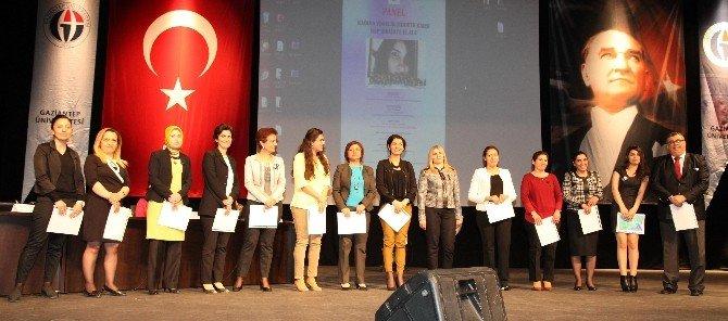 GAÜN'de 'Kadına Yönelik Şiddete Karşı Hep Birlikte El Ele' Paneli