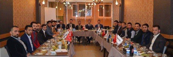 Genç MÜSİAD, Başkan Ermişler'i Ağırladı