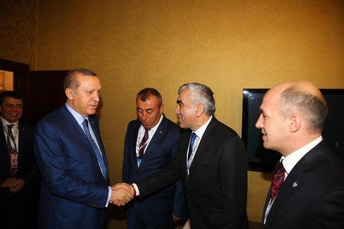 Madene İşçi Alımı İçin Cumhurbaşkanı Erdoğan İle Görüştüler