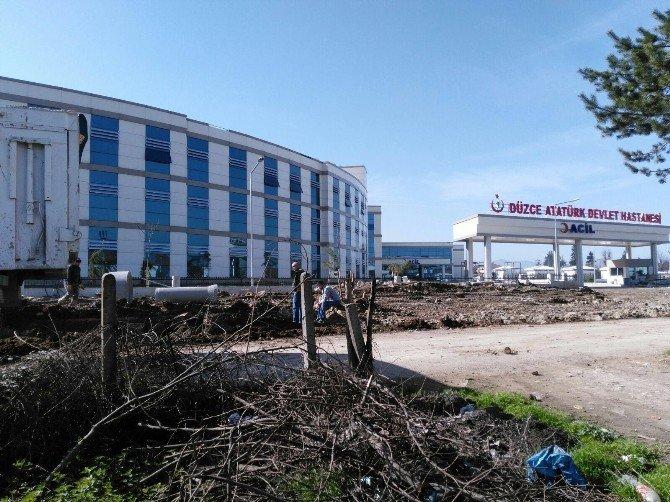 Belediye Hastanenin Alt Yapısını Hızlandırdı