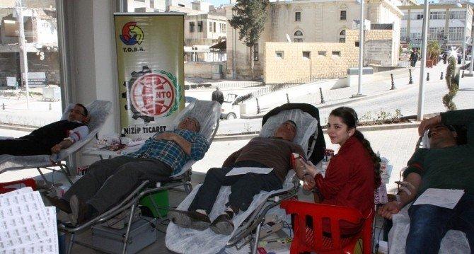 Kan Bağışı Kampanyasına Büyük İlgi