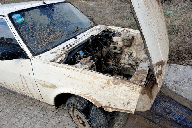 Ankara'dan çalınan hurda araç Kırıkkale'de bulundu
