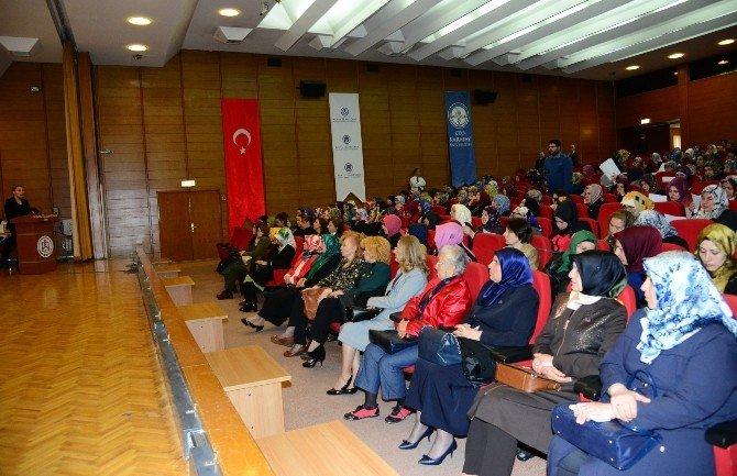 Büyükşehir'den Kadınlar Günü Etkinlikleri