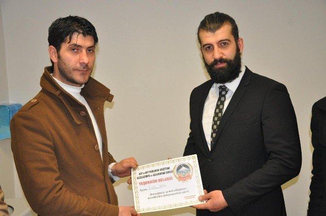 Köy-gel-der'den Tayini Çıkan Doktora Teşekkür Ziyareti