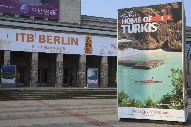 Turizmciler, Berlin Fuarında Buluştu