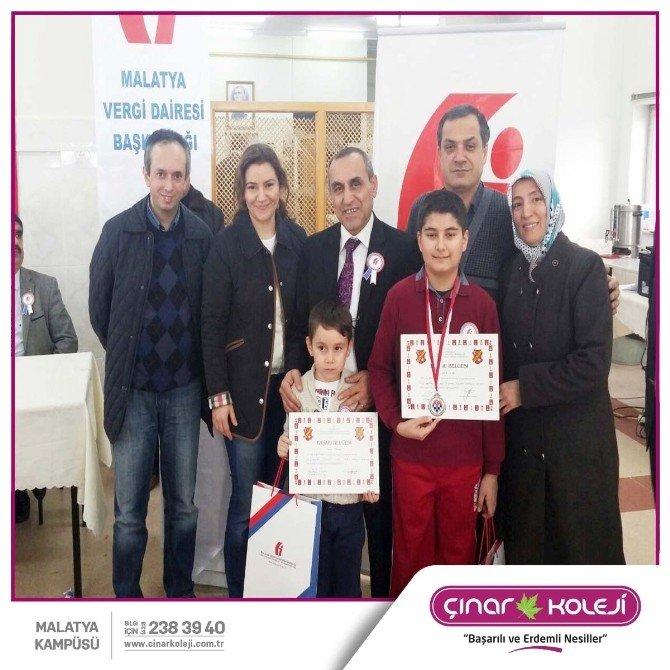 Malatya Çınar Koleji Öğrencisi, Satranç Turnuvasında 2. Oldu