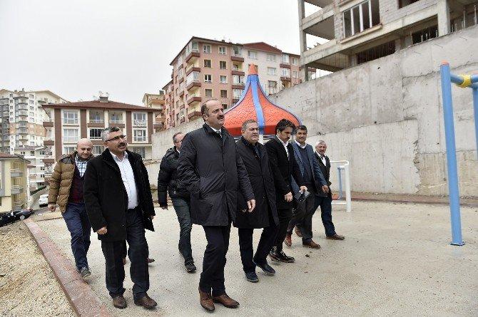 Cengizhan Mahallesi'ne Yeni Park