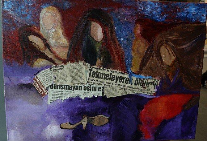 Kadının Dünyası Tuvallere Yansıdı