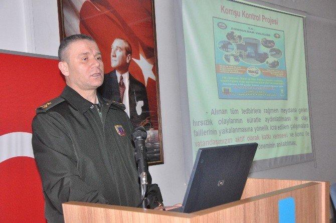 Muhtarlara Komşu Kontrol Projesi Tanıtıldı