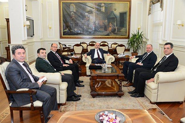 Sağlık BakanıMüezzinoğlu, TBF heyetini kabul etti
