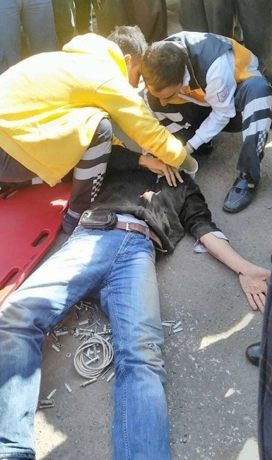 Siverek'te Trafik Kazası: 1 Yaralı