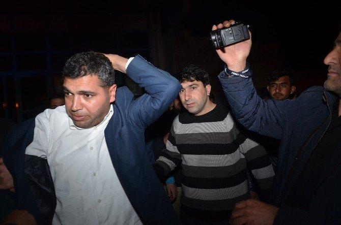 Viranşehir'de Markete Molotoflu Saldırı
