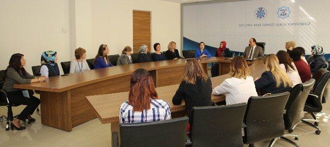 Farklı Ülke Kadınlarından Selçuklu Belediyesi'ne Ziyaret