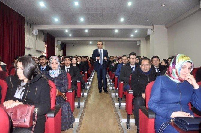 Vali Yavuz'dan Aday Öğretmenlere Uyarı