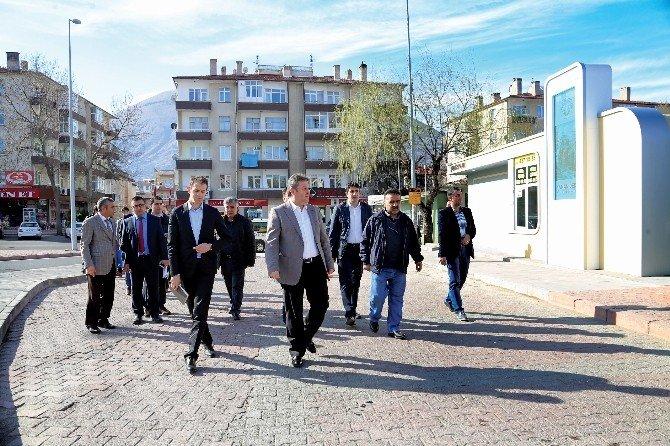 Atm'li Taksi Durakları Talas'a Estetik Kattı