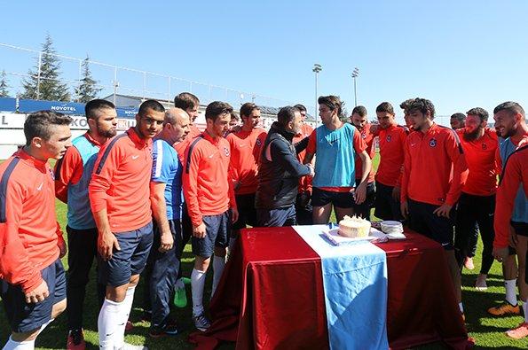 Trabzonspor, Mersin İdmanyurdu maçının hazırlıklarını sürdürdü