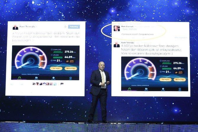 """Turkcell Genel Müdürü Terzioğlu: """"1 Nisan'dan İtibaren Dünyanın En Hızlı 4.5g Hizmetini Sunacağız"""""""